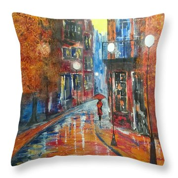 St Germaine Paris Throw Pillow