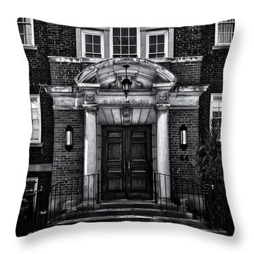 St Hilda's College University Of Toronto Campus Throw Pillow