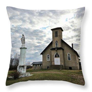 St Hubert Throw Pillow by Ryan Crouse