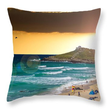 St Ives Cornwall Uk Throw Pillow