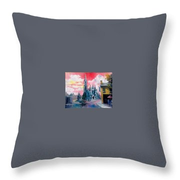 St Johns Cathedral Limerick  Ireland Throw Pillow