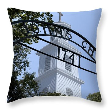 St Johns Church Throw Pillow by Kelvin Booker