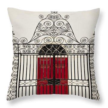 St. John's Gate Throw Pillow