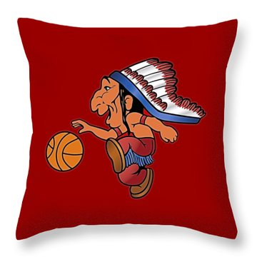 St Johns Redmen I Throw Pillow