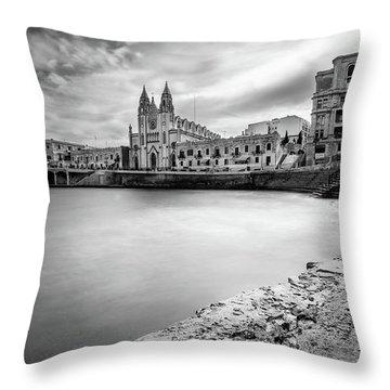 St. Julian's Bay Throw Pillow