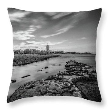 St. Julian's Bay View Throw Pillow
