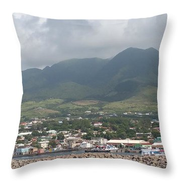St. Kitts Color Throw Pillow