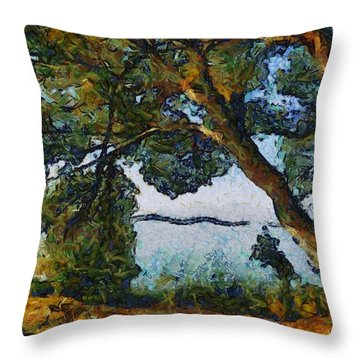 St. Lawrence Point Throw Pillow
