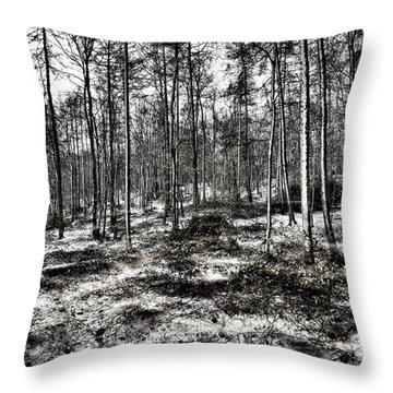 Forest Throw Pillows
