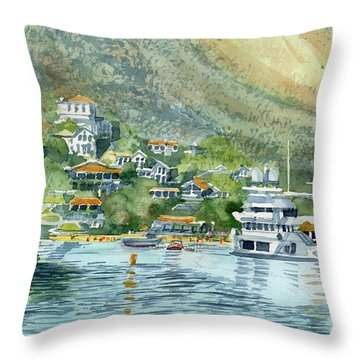 St. Maarten Cove Throw Pillow