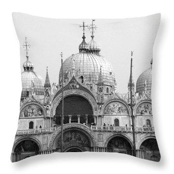St. Marks Throw Pillow