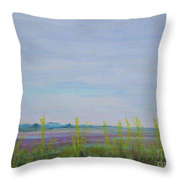 St. Marks Refuge I - Spring Throw Pillow