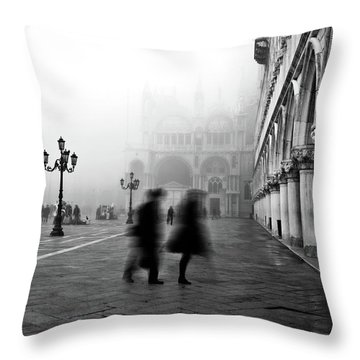 St Mark's Square Throw Pillow