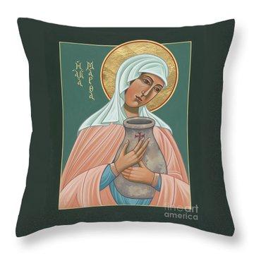 St Martha Of Bethany  Throw Pillow