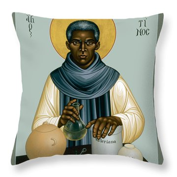 St. Martin De Porres - Rlmpc Throw Pillow