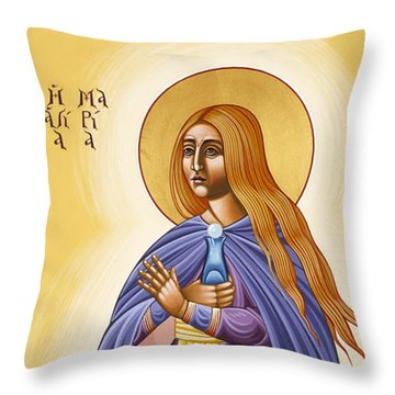 St Mary Magdalen Equal To The Apostles 116 Throw Pillow