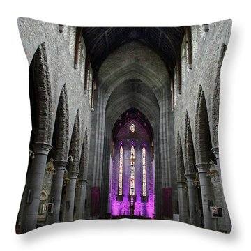 St. Mary's Cathedral, Killarney Ireland 1 Throw Pillow