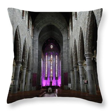 St. Mary's Cathedral, Killarney, Ireland 2 Throw Pillow