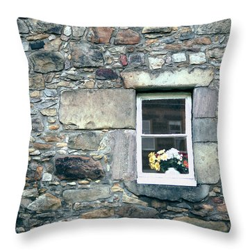 St. Mary's Window Throw Pillow