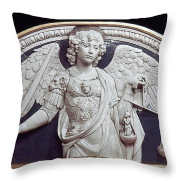 St. Michael The Archangel Throw Pillow by Granger