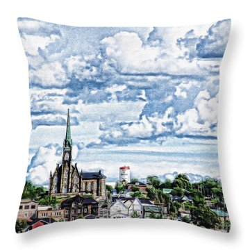 St Michaels Basilica Throw Pillow