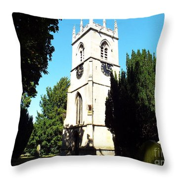 St. Michael's,rossington Throw Pillow