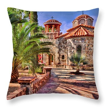 St. Nicholas Chapel Throw Pillow by Matt Suess