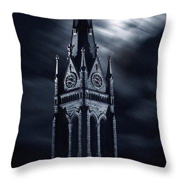 St Nicholas Church Wilkes Barre Pennsylvania Throw Pillow