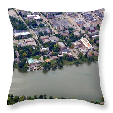 St. Norberts University Throw Pillow