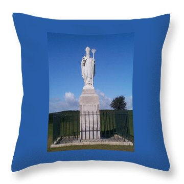 Throw Pillow featuring the photograph St Patrick by Charles Kraus