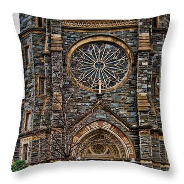 St. Patrick's Church Throw Pillow