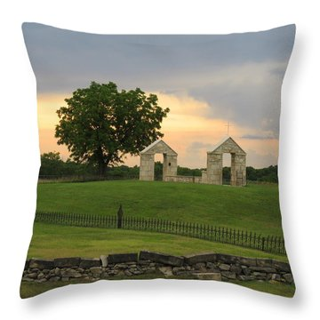St. Patrick's Mission Church Memorial Throw Pillow