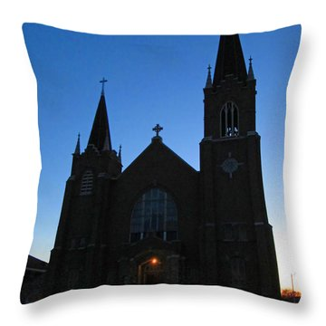 St. Patrick's Of Escanaba Throw Pillow