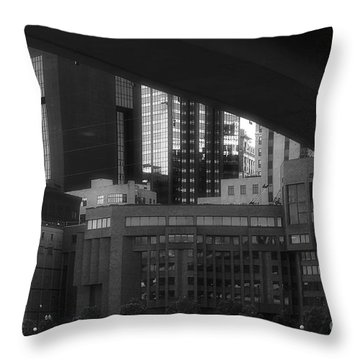 St. Paul At Dusk Throw Pillow