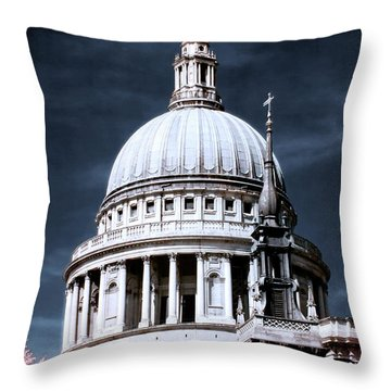 St. Paul's Cathedral's Dome, London Throw Pillow