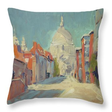 St Pauls London Throw Pillow