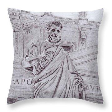 St. Peter Throw Pillow