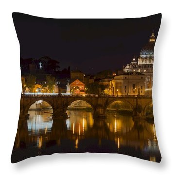 St. Peter's Basilica-655 Throw Pillow