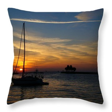 St. Petersburg Sunrise Throw Pillow