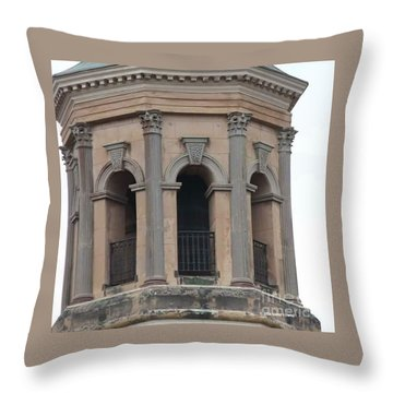 St. Philips Steeple 1 Throw Pillow