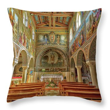 St Stephen's Basilica Throw Pillow