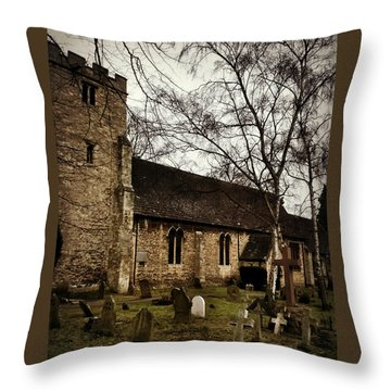 St. Thomas The Martyr Throw Pillow by Persephone Artworks