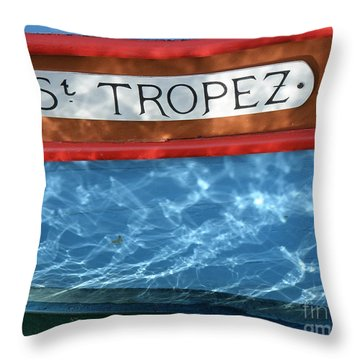St. Tropez Throw Pillow