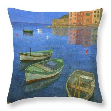 St. Tropez Throw Pillow