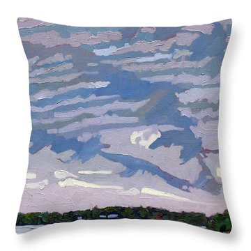 Stable Layer Throw Pillow