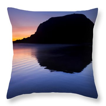 Stack Reflections Throw Pillow by Mike  Dawson