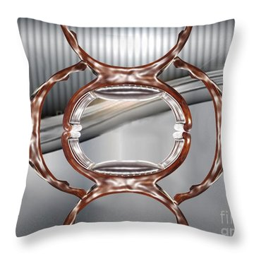 Stacked Throw Pillow by Belinda Threeths