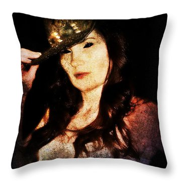 Stacy 1 Throw Pillow
