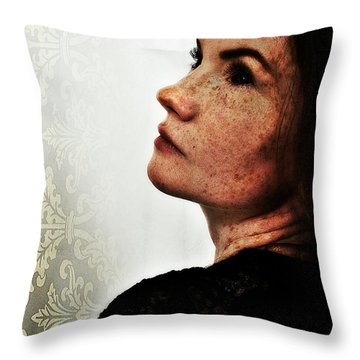 Stacy 3 Throw Pillow