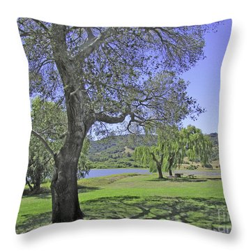 Stafford Lake Beauty Throw Pillow